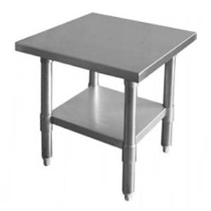 Thunder Group SLWT43024F Flat Top Work Table Stainless Steel 30 x 24 x 34