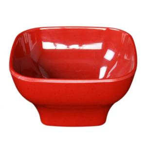 Thunder Group Melamine Bowl 20 oz Rounded Square Shape 3 Colors Available - PS3106