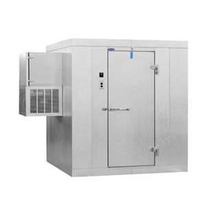 Nor-Lake 8'x10' Indoor Walk In Cooler with Floor - 6'7' Height - KLB810-W