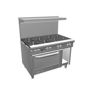 Southbend 48 S-Series Range w/ 8 Burners & Convection Oven - S48AC