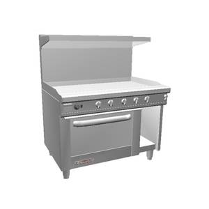 Southbend 48 S-Series Range w/ Convection Oven & 48 Therm. Griddle - S48AC-4T