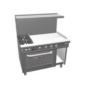 Southbend 48 Ultimate Range w/ 36 Therm. Griddle & Convection Oven - 4481AC-3T