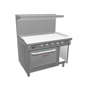 Southbend 48 Ultimate Range w/ 48 Manual Griddle & Convection Oven - 448AC-4G
