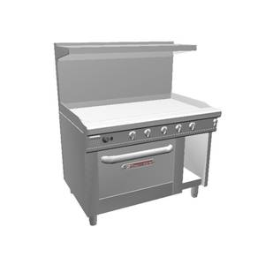 Southbend 48 Ultimate Range w/ 48 Therm. Griddle & Convection Oven - 448AC-4T