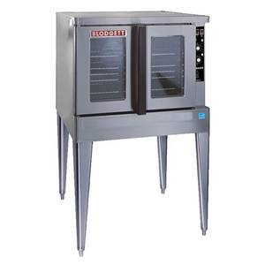 Blodgett Zephaire Full Size Bakery Depth Electric Convection Oven - ZEPH-200-E SGL