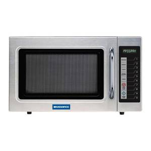 Radiance 1.2 CuFt Commercial Stainless Microwave Oven 1000 Watt - TMW-1100ER