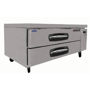 Nor-Lake 53in Two Drawer Refrigerated Chef Base Equipment Stand - NLCB53