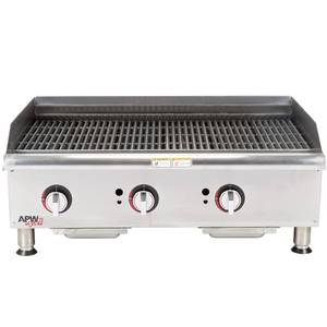 APW Wyott GCB-36I Champion 36in Radiant Gas Charbroiler