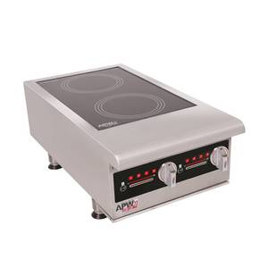 APW Wyott Champion Series Four Burner 14000w Induction Cooker - IHP-4