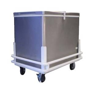 9.7 Cu.Ft Stainless Steel Eutectic Cold Plate Push Cart - FTHG6FFE-SS
