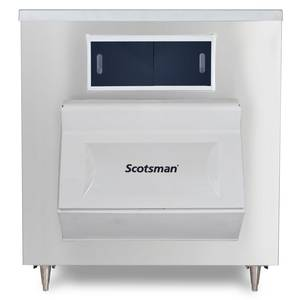 Scotsman 48in Top Hinged 1100lb Upright Ice Storage Bin - BH1100BB-A