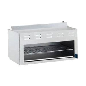 Market Forge 24in Stainless Steel Cheesemelter Broiler Gas - R-RCM-24