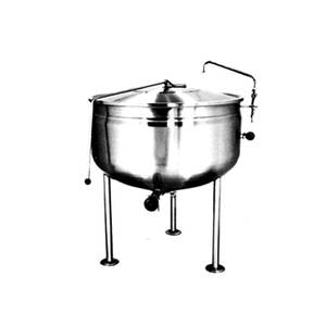 Market Forge 40gal Stainless Steel Stationary Kettle Full Steam Jacket - F-40*F