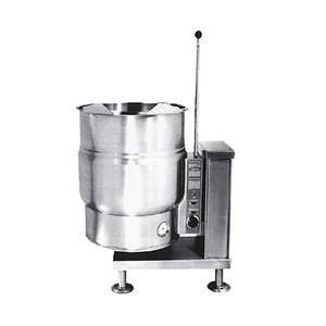 Market Forge 20gal Stainless Steel Floor Model Kettle Electric - FT-20CE