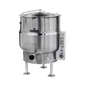 Market Forge 20gal SS Stationary Kettle w/ 2/3 Steam Jacket Electric - F-20*E