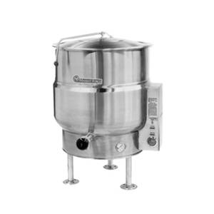 Market Forge 40gal SS Stationary Kettle w/ 2/3 Steam Jacket Electric - F-40*E