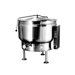 Market Forge 20gal SS Stationary Kettle Full Steam Jacket Electric - F-20*EF