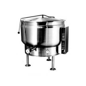 Market Forge 40gal SS Tilting Kettle w/ Full Steam Jacket Electric 24kw - FT-40LEF