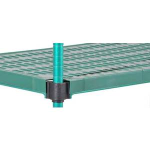Eagle Group Quad Adjust 14x36 Reverse Mat Wire Shelf, Green Epoxy - QAR1436E