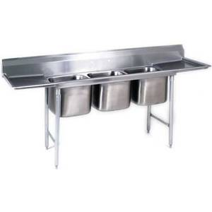 Eagle Group 414 Series Sink 3 Compartment w/ Stainless Steel Top - 414-16-3-18-X