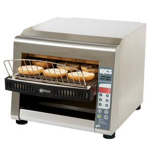 Star 14 Wide Holman Stainless Steel Electric Conveyor Toaster - IQCSE3-1600B
