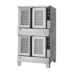 Blodgett Zephaire Std. Depth Double Deck 100K BTU Gas Convection Oven - ZEPH-100-G DBL