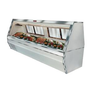Howard McCray 143 Refrigerated Fish/Poultry Display Case Black Exterior - SC-CFS35-12-B
