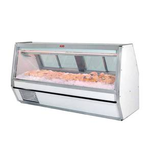Howard McCray 148.5 Single Duty Refrigerated Fish/Poultry Display Case - SC-CFS40E-12