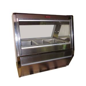 Howard McCray 76.5 SS Hot Food Deli Display Case (4) Heated Wells - CHS40-6-S