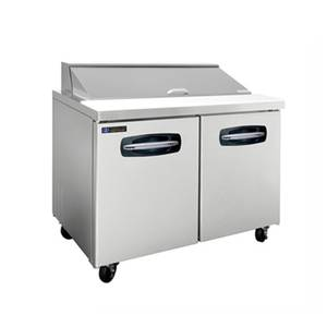 Master-Bilt 12.7cf Fusion Refrigerated Sandwich Top 1 Door 2 Drawer L - MBSP48-12A-003