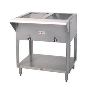 Advance Tabco 32 Electric 2 Well Hot Food Table w/ SS Top 120v - HF-2E-120