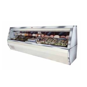 Howard McCray 50 Refrigerated Deli Meat & Cheese Display Case Black - SC-CDS35-4-B