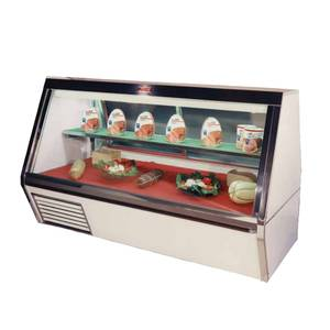 Howard McCray 95 Refrigerated Deli Meat & Cheese Low Profile Display Case - SC-CDS35-8L