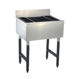 Advance Tabco 47 Underbar Ice Bin Cocktail Station 161lbs. Ice Capacity - SLI-12-48