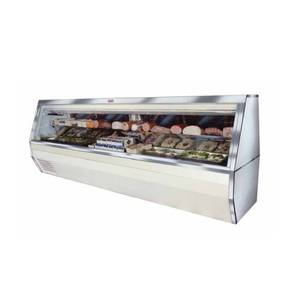 Howard McCray 143 Refrigerated Deli Meat & Cheese Display Case White - SC-CDS35-12