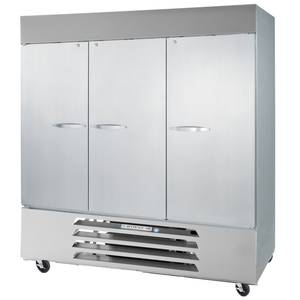 Beverage-Air 72cf Three Solid Door S/s Reach-In Freezer - FB72HC-5S