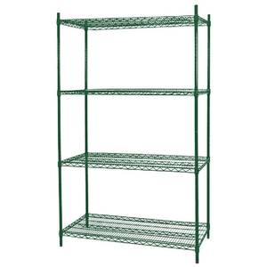 Nor-Lake 4 Tier Shelving Kit for 3.5 x 6 Walk-In Cooler or Freezer - SSG366-4