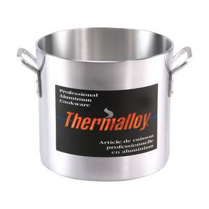 Browne Foodservice Thermalloy® 40qt Aluminum Heavy Weight Stock Pot - 5813140