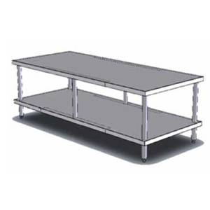 Vollrath 60 Heavy Duty Stationary Equipment Stand w/ 650lb Capacity - 4087060