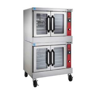 Vulcan VC5 Series Double Stack Electric Convection Oven - VC55ED