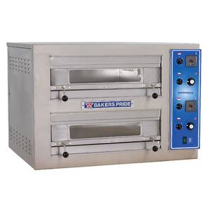 Bakers Pride Countertop Double Deck Oven Electric Cordierite Hearth Deck - EP-2-2828