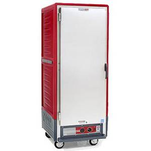 Metro Full Height Moisture Heater Proofer w/Univ. Wire Solid Doors - C539-MFS-U