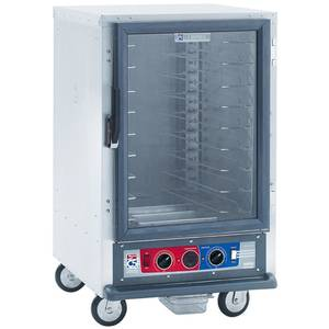 Metro 1/2 Height Mobile Heater/Proofer Cabinet w/ Lip Load Slide - C515-CFC-L