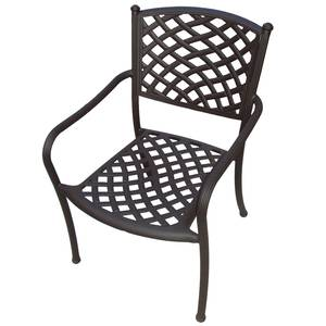 Plantation Prestige Madrid Stackable Dining Chair Chocolate Finish - 8751100-0440