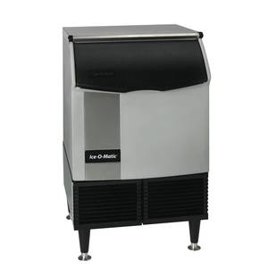 Ice-O-Matic 251lb Water Cooled Half Size Cube Ice Maker Self-Contained - ICEU220HW
