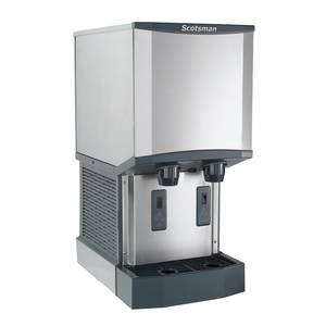 Scotsman 260lb Nugget Meridian Ice Maker Dispenser Wall Mounted - HID312AW-1