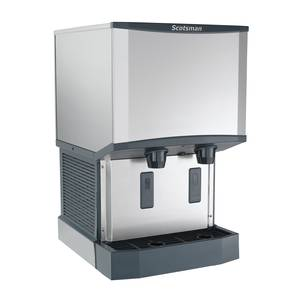 Scotsman 500lb Nugget Meridian Ice Maker Dispenser Water Cooled - HID525W-1