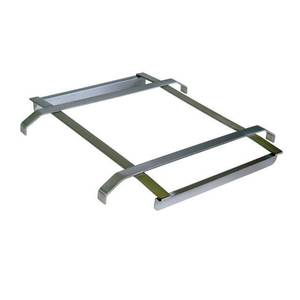 BK Resources Stainless Steel Rack Slide Fits 24W x 18D Sink Bowl - BK-SDTS-1824