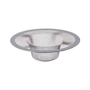 Thunder Group Stainless Steel Extra Fine Mesh Lining Sink Strainer Small - SLSN003