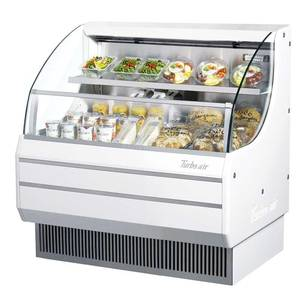 Turbo Air 40 Refrigerated Deli Merchandiser Low Profile White - TOM-40L